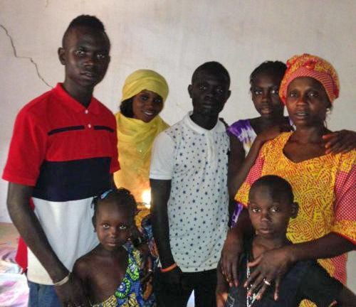 The Sanyang Family in The Gambia, West Africa