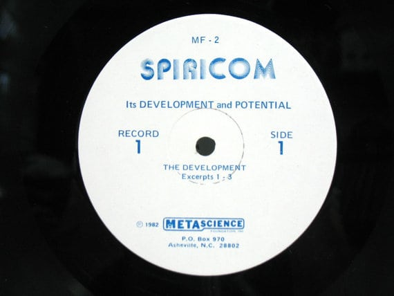 Spiricom Its development and potential LP